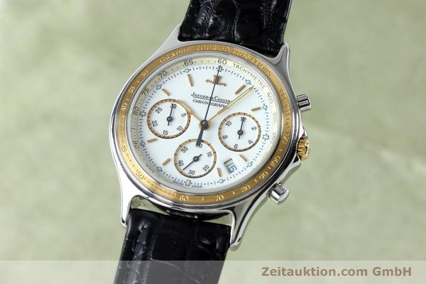 JAEGER LE COULTRE HERAION CHRONOGRAPH STEEL / GOLD QUARTZ KAL. 630 [151757]