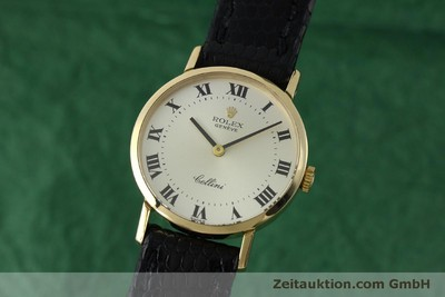 ROLEX CELLINI ORO DE 18 QUILATES CUERDA MANUAL KAL. 1600 LP: 4300EUR [151759]