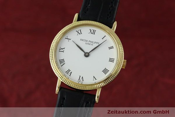 PATEK PHILIPPE CALATRAVA OR 18 CT QUARTZ KAL. E15 LP: 15980EUR [151760]