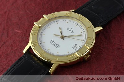 OMEGA CONSTELLATION 18 CT GOLD AUTOMATIC KAL. 1111 LP: 6710EUR [151761]