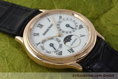 AUDEMARS PIGUET DAY-DATE MOONPHASE OR ROUGE 18 CT AUTOMATIQUE KAL. 2124 [151764]