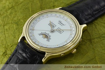 CHOPARD LUNA DORO 18 CT GOLD QUARTZ KAL. 605/444 LP: 22100EUR [151767]