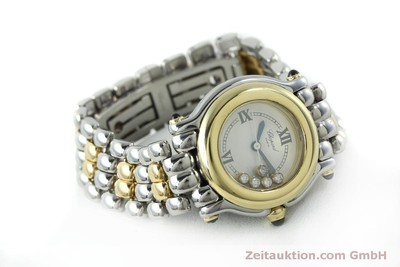CHOPARD HAPPY SPORT STEEL / GOLD QUARTZ KAL. ETA 956.102 LP: 13930EUR [151775]