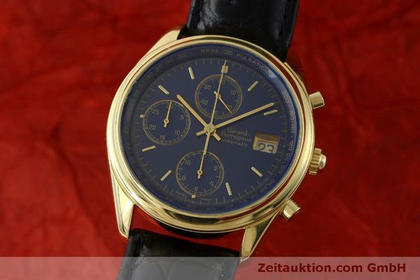 GIRARD PERREGAUX CHRONOGRAPHE OR 18 CT AUTOMATIQUE KAL. 8000-514 LP: 27500EUR  [151776]