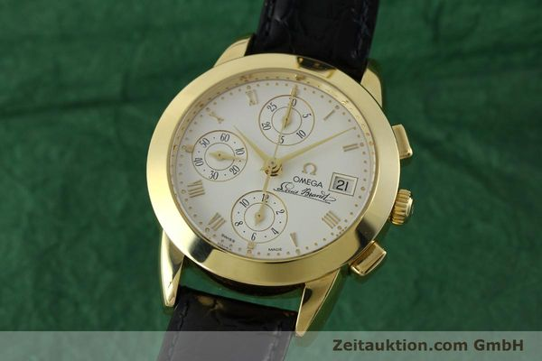 OMEGA LOUIS BRANDT CHRONOGRAPHE OR 18 CT AUTOMATIQUE KAL. 1158 LP: 14200EUR [151780]