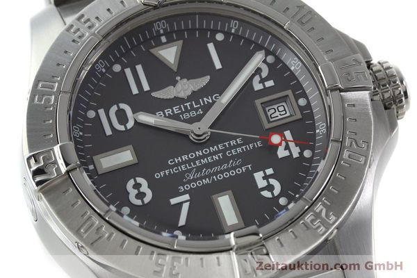 Used luxury watch Breitling Avenger steel automatic Kal. B17 ETA 2824-2 Ref. A17330  | 151790 02