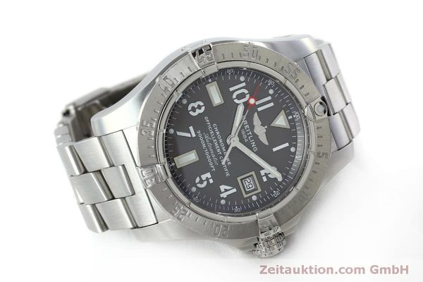 Used luxury watch Breitling Avenger steel automatic Kal. B17 ETA 2824-2 Ref. A17330  | 151790 03
