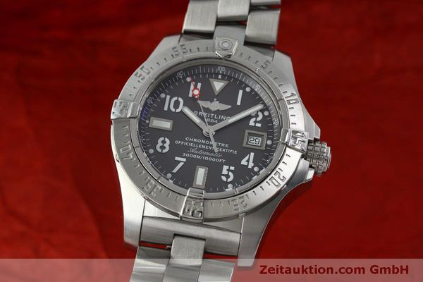 Used luxury watch Breitling Avenger steel automatic Kal. B17 ETA 2824-2 Ref. A17330  | 151790 04