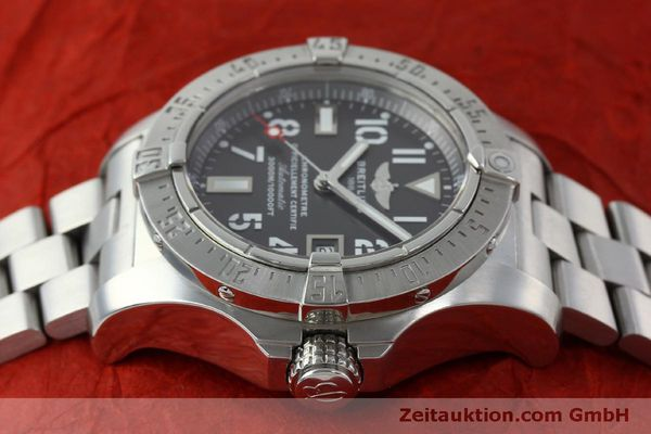 Used luxury watch Breitling Avenger steel automatic Kal. B17 ETA 2824-2 Ref. A17330  | 151790 05