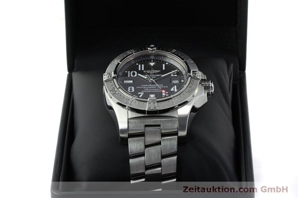 Used luxury watch Breitling Avenger steel automatic Kal. B17 ETA 2824-2 Ref. A17330  | 151790 07
