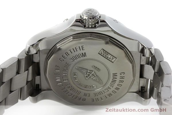Used luxury watch Breitling Avenger steel automatic Kal. B17 ETA 2824-2 Ref. A17330  | 151790 09