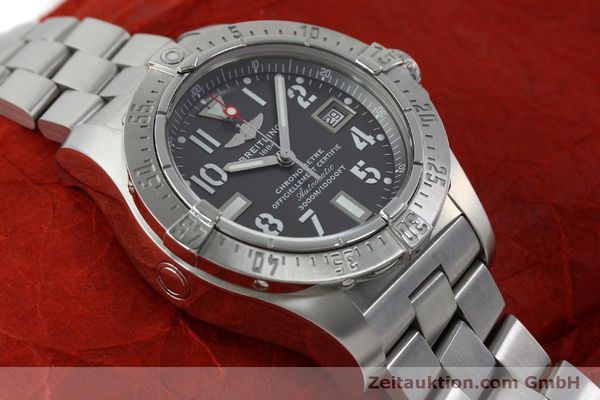 Used luxury watch Breitling Avenger steel automatic Kal. B17 ETA 2824-2 Ref. A17330  | 151790 14