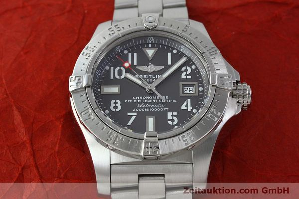Used luxury watch Breitling Avenger steel automatic Kal. B17 ETA 2824-2 Ref. A17330  | 151790 15