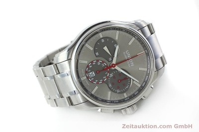 UNION GLASHÜTTE BELISAR CHRONOGRAPH STEEL AUTOMATIC KAL. U7753 ETA 7753 LP: 2470EUR [151797]