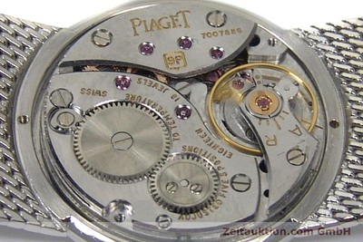 PIAGET 18 CT WHITE GOLD MANUAL WINDING KAL. 9P [151798]