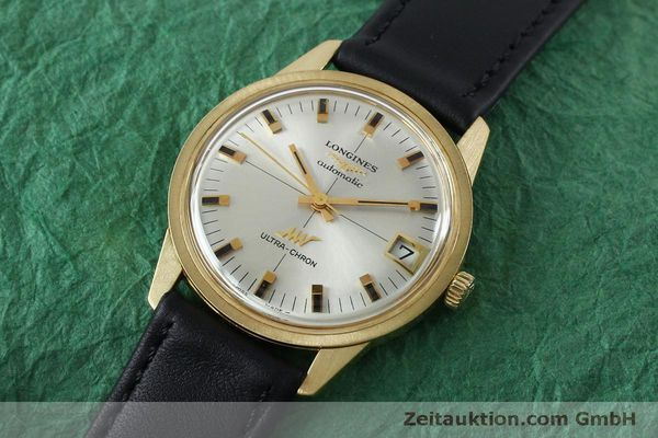 Used luxury watch Longines Ultra Chron 18 ct gold automatic Kal. 431 Ref. 7826  | 151803 01