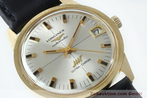 Used luxury watch Longines Ultra Chron 18 ct gold automatic Kal. 431 Ref. 7826  | 151803 02