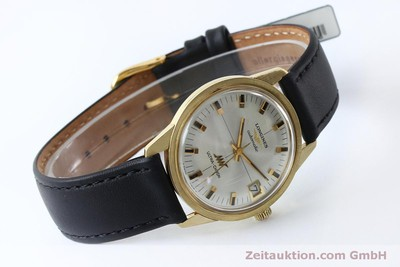 LONGINES ULTRA-CHRON 18K GOLD AUTOMATIK HERRENUHR 7826 VP: 4200,- EURO [151803]