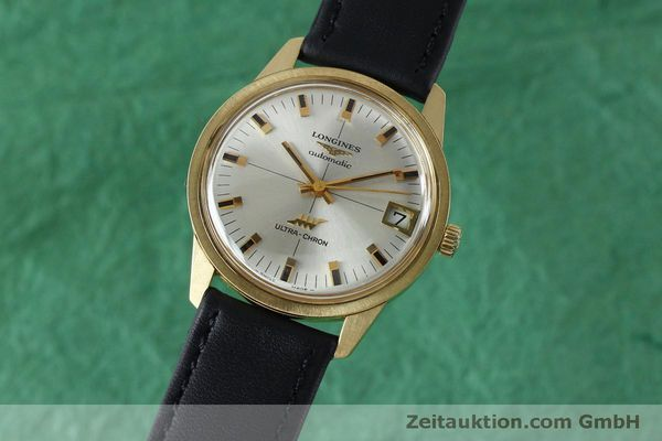 Used luxury watch Longines Ultra Chron 18 ct gold automatic Kal. 431 Ref. 7826  | 151803 04
