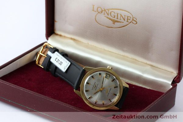 Used luxury watch Longines Ultra Chron 18 ct gold automatic Kal. 431 Ref. 7826  | 151803 07