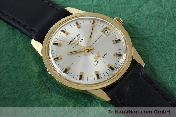 Used luxury watch Longines Ultra Chron 18 ct gold automatic Kal. 431 Ref. 7826  | 151803 14