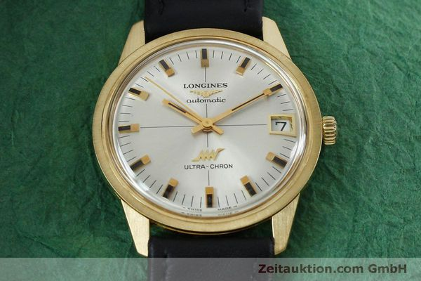 Used luxury watch Longines Ultra Chron 18 ct gold automatic Kal. 431 Ref. 7826  | 151803 15
