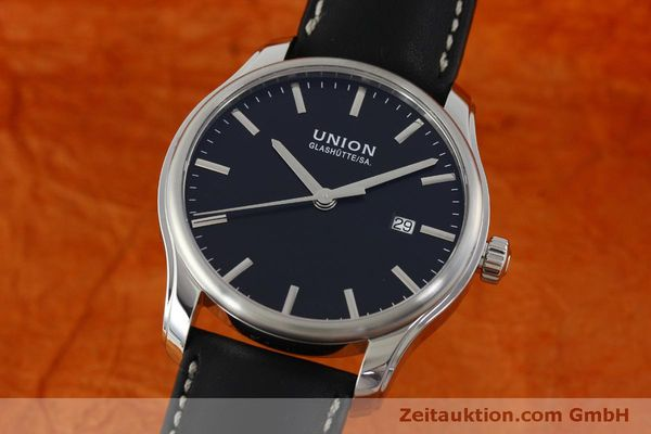 UNION GLASHÜTTE VIRO ACIER AUTOMATIQUE KAL. ETA 2892A2 LP: 980EUR  [151807]