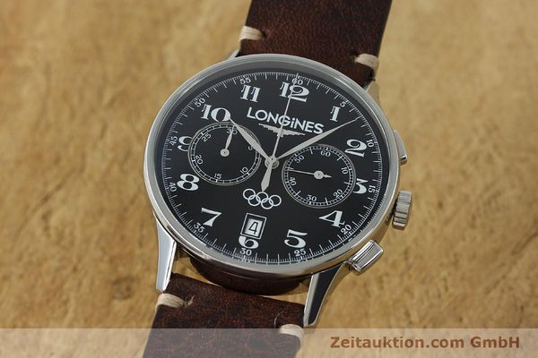 LONGINES OLYMPIC COLLECTION CHRONOGRAPH HERRENUHR STAHL L2.650.4 VP: 2160,- Euro [151809]