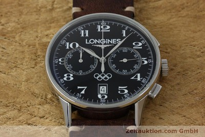 LONGINES OLYMPIC COLLECTION CRONÓGRAFO ACERO AUTOMÁTICO KAL. L651.3 ETA 2894-2 [151809]