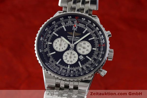BREITLING NAVITIMER HERITAGE CHRONOGRAPH AUTOMATIK STAHL A35350 VP: 7860,- EURO [151812]