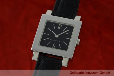 BVLGARI QUADRATO STEEL QUARTZ [151813]