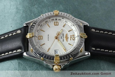 BREITLING WINGS COCKPIT AUTOMATIK HERRENUHR B10050 STAHL / GOLD VP: 3930,- EURO [151824]