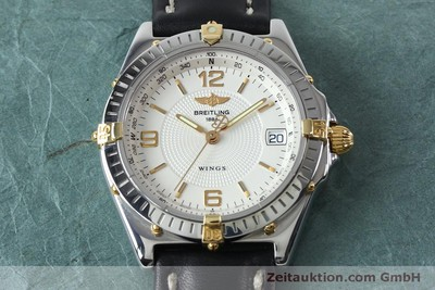 BREITLING WINGS STEEL AUTOMATIC KAL. B10 ETA 2892A2 LP: 3930EUR [151824]