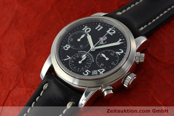 Used luxury watch Girard Perregaux Ferrari chronograph steel automatic Kal. 2280 Ref. 8020  | 151829 01