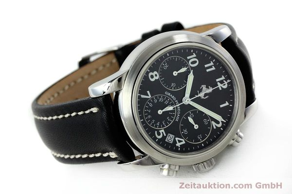 Used luxury watch Girard Perregaux Ferrari chronograph steel automatic Kal. 2280 Ref. 8020  | 151829 03