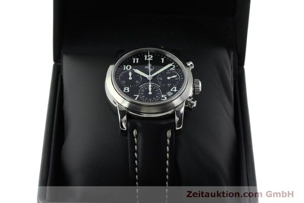 Used luxury watch Girard Perregaux Ferrari chronograph steel automatic Kal. 2280 Ref. 8020  | 151829 07
