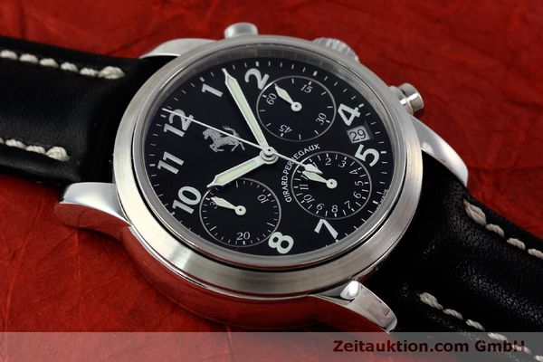 Used luxury watch Girard Perregaux Ferrari chronograph steel automatic Kal. 2280 Ref. 8020  | 151829 13