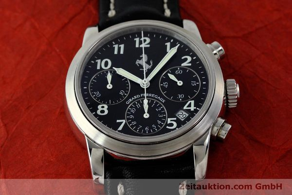 Used luxury watch Girard Perregaux Ferrari chronograph steel automatic Kal. 2280 Ref. 8020  | 151829 14