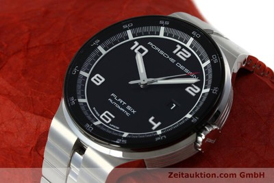 PORSCHE DESIGN FLAT SIX STEEL AUTOMATIC KAL. SELLITA SW200-1 LP: 2250EUR [151838]