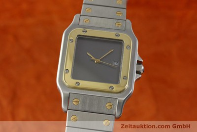 CARTIER SANTOS STEEL / GOLD AUTOMATIC KAL. ETA 2671 LP: 7100EUR [151840]