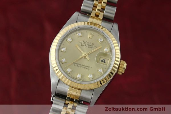 ROLEX LADY DATEJUST STEEL / GOLD AUTOMATIC KAL. 2135 LP: 9200EUR [151844]