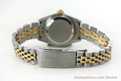 ROLEX LADY OYSTER DATEJUST GOLD /STAHL DAMENUHR DIAMANTEN REF 69173 VP: 9200,- Euro [151844]