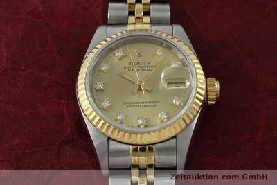 ROLEX LADY DATEJUST ACIER / OR AUTOMATIQUE KAL. 2135 LP: 9200EUR [151844]