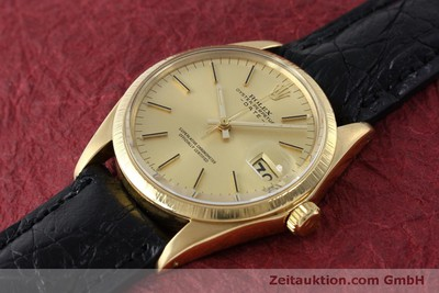 ROLEX DATE OR 18 CT AUTOMATIQUE KAL. 1570 LP: 19050EUR [151845]