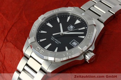 TAG HEUER AQUARACER 300m HERRENUHR WAY1110 EDELSTAHL FULL SET NP: 1350,- EURO [151852]