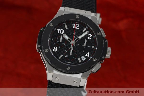 HUBLOT BIG BANG CHRONOGRAPH STEEL / TITANIUM AUTOMATIC KAL. ETA 2894-2 LP: 12400EUR [151859]