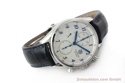 TAG HEUER CARRERA CHRONOGRAPH STEEL AUTOMATIC KAL. 16 LP: 4300EUR [151863]