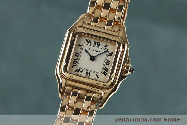 CARTIER PANTHERE ORO 18 CT QUARZO KAL. 057 [151866]