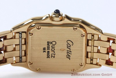 CARTIER PANTHERE 18 CT GOLD QUARTZ KAL. 057 [151866]