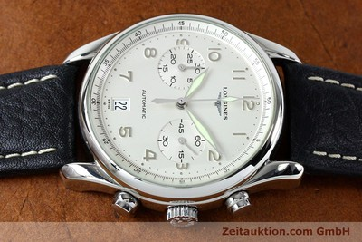 LONGINES AVIGATION CHRONOGRAPH STEEL AUTOMATIC KAL. L651.3 ETA 2824-2 LP: 1920EUR [151874]